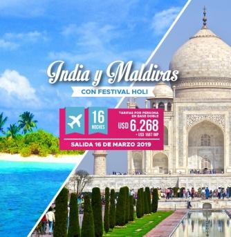 India y maldivas
