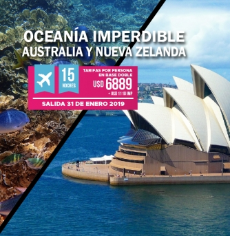Oceania imperdible