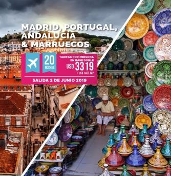 Madrid Portugal Andalucia y Marruecos