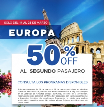 Promo 50% Off Special Tours