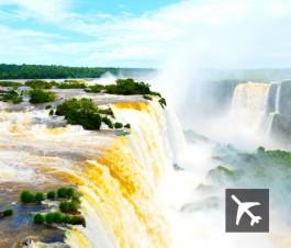 Volá a Iguazú desde Rosario en 18 cuotas de $385