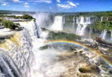 Cataratas del Iguazu en aereo desde Rosario